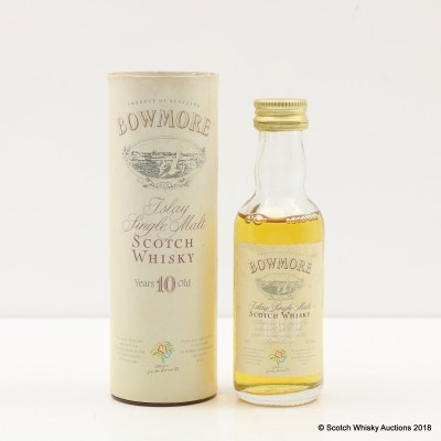 Bowmore 10 Year Old For Glasgow Garden Festival 1988 Mini 5cl
