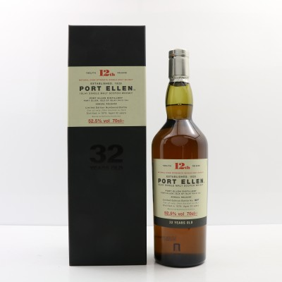Port Ellen 12th Annual Release 1979 32 Year Old