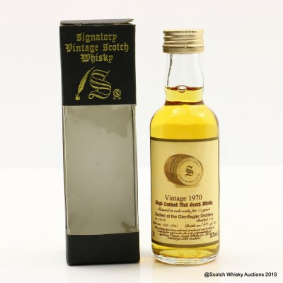 Glen Flagler 1970 23 Year Old Signatory Mini 5cl