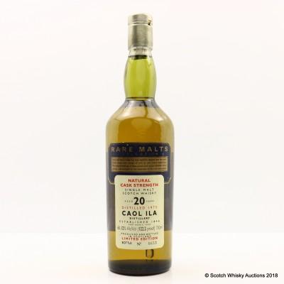 Rare Malts Caol Ila 1975 20 Year Old 75cl