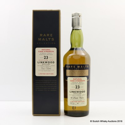 Rare Malts Linkwood 1974 23 Year Old 75cl