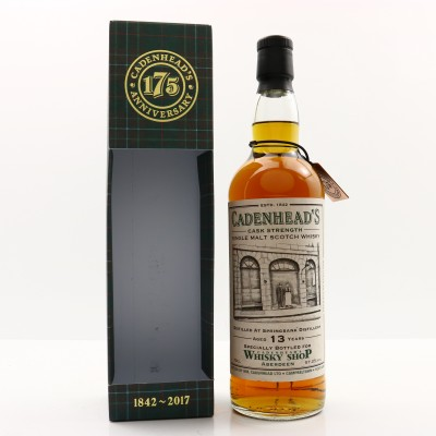 Springbank 2003 13 Year Old for Cadenhead's Shop Aberdeen