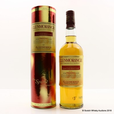 Glenmorangie 12 Year Old Three Cask Matured Limited Edition