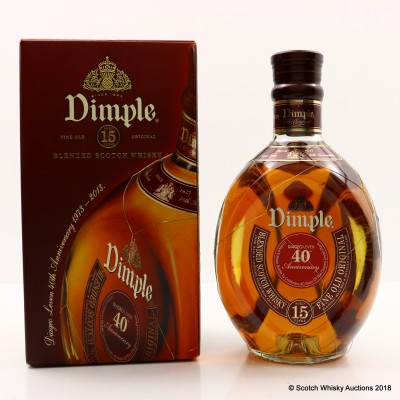 Dimple 15 Year Old Limited Edition