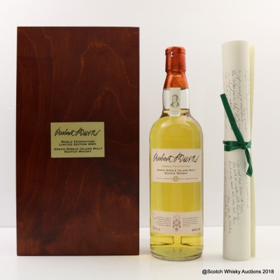 Arran Robert Burns World Federation Limited Edition 2001