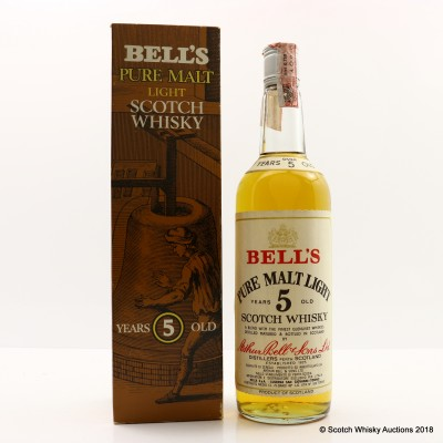 Bell's Over 5 Year Old Pure Malt Light 75cl