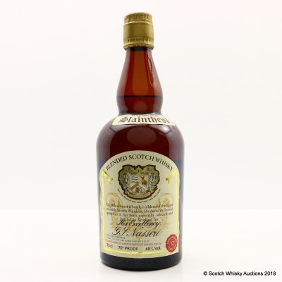 Slaintheva 12 Year Old 70 Proof 75cl