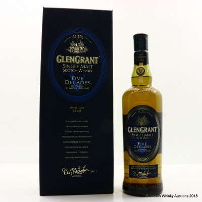 Glen Grant Five Decades