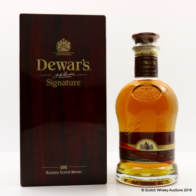 Dewar's Signature 75cl