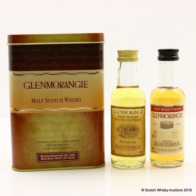 Glenmorangie 10 Year Old & Port Wood Finish Mini Set 2 x 5cl