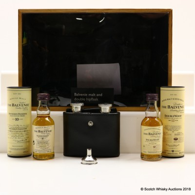 Balvenie 10 Year Old Founder's Reserve & 12 Year Old DoubleWood Gift Set 2 x 5cl