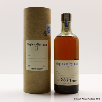 Nikka Single Coffey Malt 12 Year Old
