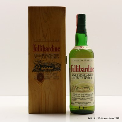 Tullibardine 10 Year Old With Hipflask In Box