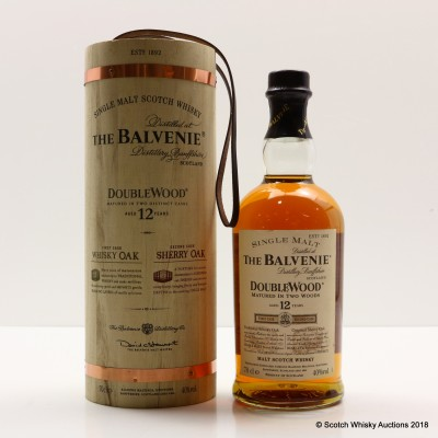 Balvenie 12 Year Old DoubleWood (In Wooden Tube)