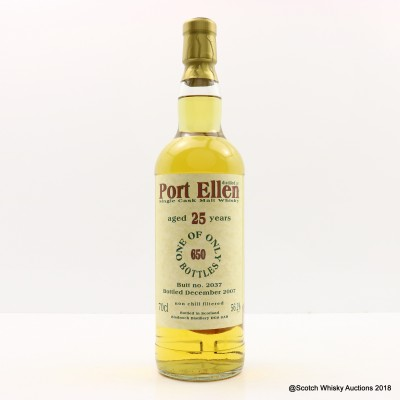 Port Ellen 25 Year Old Bladnoch Forum Cask #2037