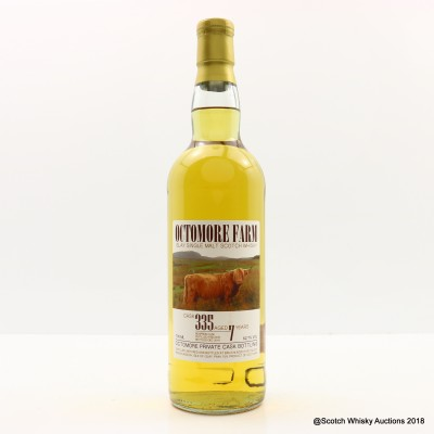 Octomore Farm 2009 7 Year Old Private Cask #335
