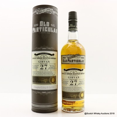 Girvan 1989 27 Year Old Old Particular