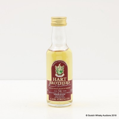 Bowmore 1968 34 Year Old Hart Brothers Mini 5cl