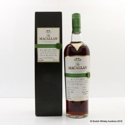 Macallan Easter Elchies 2009