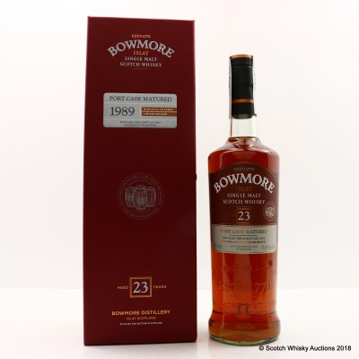 Bowmore 1989 23 Year Old Port Cask