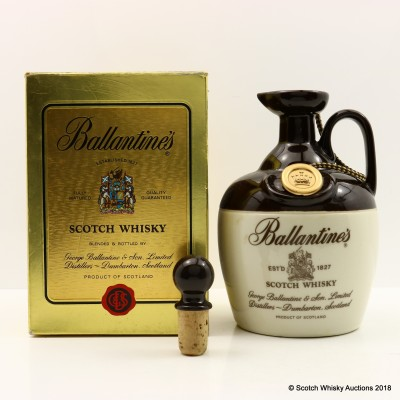 Ballantine's Ceramic Flagon