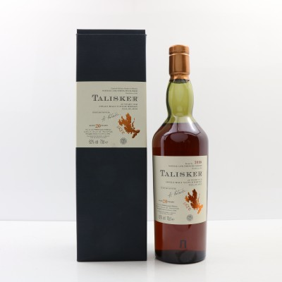 Talisker 20 Year Old 2002 Release