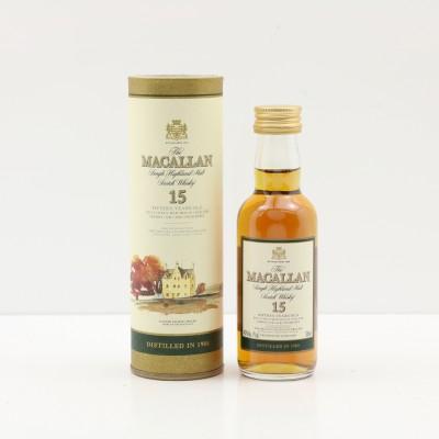 Macallan 1984 15 Year Old Mini 5cl