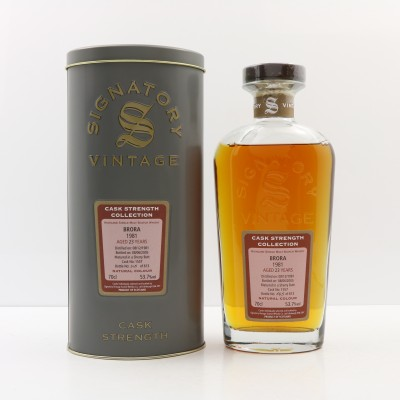 Brora 1981 23 Year Old Signatory