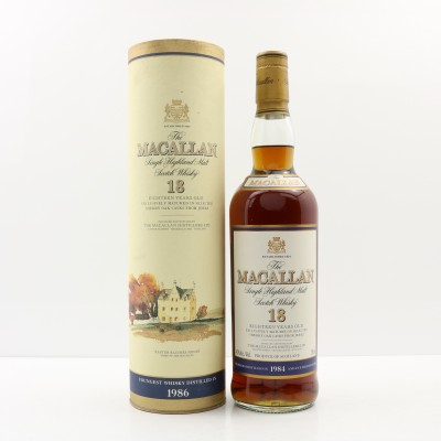 Macallan 18 Year Old 1984 75cl