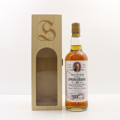 Springbank 25 Year Old Frank McHardy Bottling 75cl