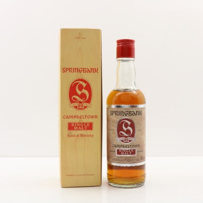 Springbank 25 Year Old 37.5cl