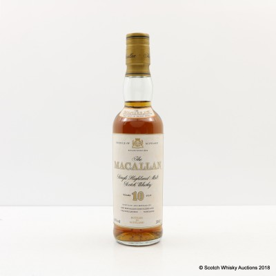Macallan 10 Year Old Old Style 35cl