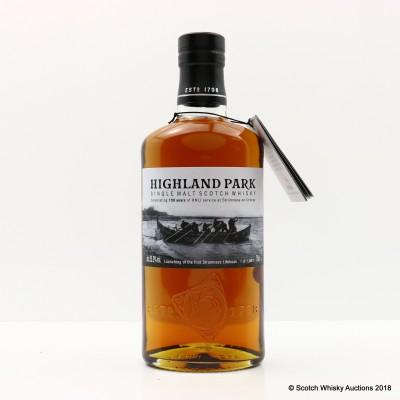 Highland Park RNLI Stromness 150th Anniversary