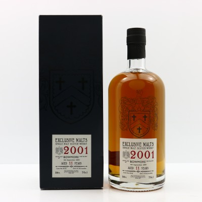 Bowmore 2001 11 Year Old Exclusive Malts