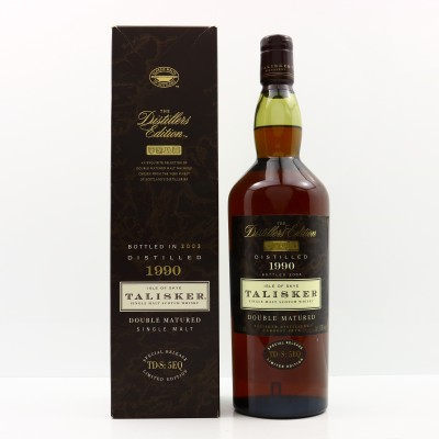 Talisker 1990 Distillers Edition 1L