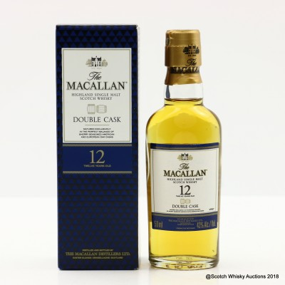 Macallan 12 Year Old Double Cask Mini 5cl