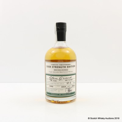 Glen Grant 1990 14 Year Old Chivas Brothers Cask Strength Edition 50cl