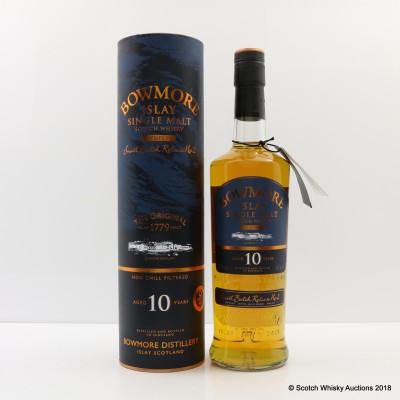 Bowmore Tempest 10 Year Old Small Batch Release #2