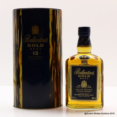 Ballantine's 12 Year Old Gold Seal