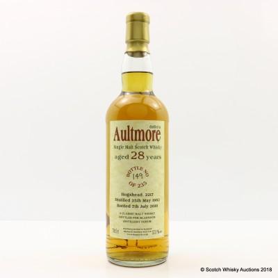 Aultmore 1982 28 Year Old Bladnoch Forum Bottling