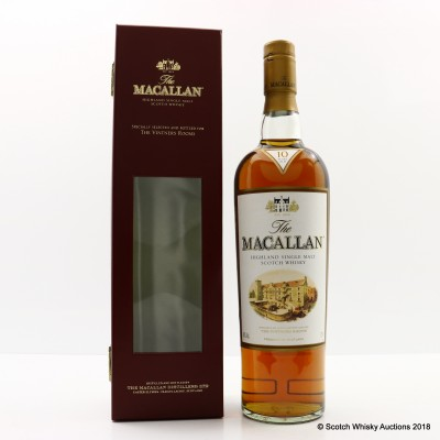 Macallan 10 Year Old For The Vintners Rooms