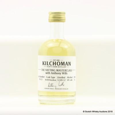 Kilchoman 2012 Anthony Wills Vatting Masterclass Cask #176 Mini 5cl