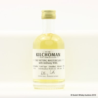 Kilchoman 2012 Anthony Wills Vatting Masterclass Cask #76 Mini 5cl