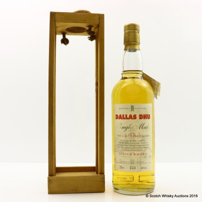 Dallas Dhu 1983 Last Cask Filled