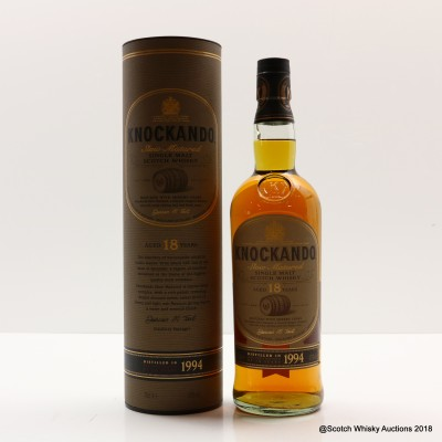 Knockando 1994 18 Year Old
