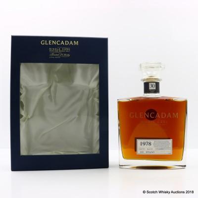 Glencadam 1978 30 Year Old Single Cask #2335