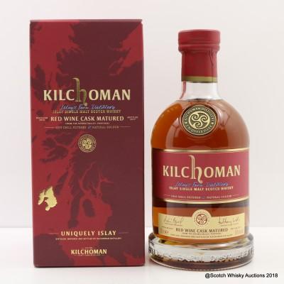 Kilchoman Red Wine Cask 2017 Release