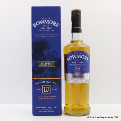 Bowmore Tempest 10 Year Old Small Batch Release #5