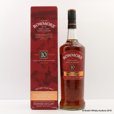 Bowmore 10 Year Old Devil's Cask Inspired 1L