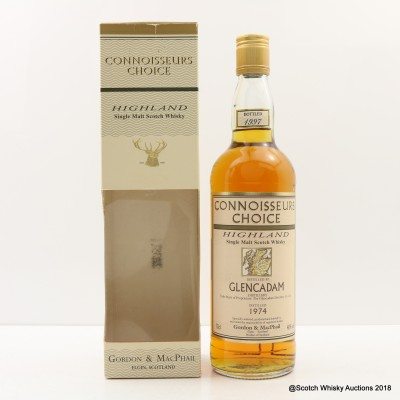 Glencadam 1974 Connoisseurs Choice
